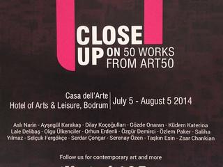 Exhibition at Casa Dell'arte, Bodrum