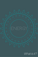 What is the 'Energy' used in energy healing?