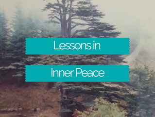 Lessons in Inner Peace from Lebanon