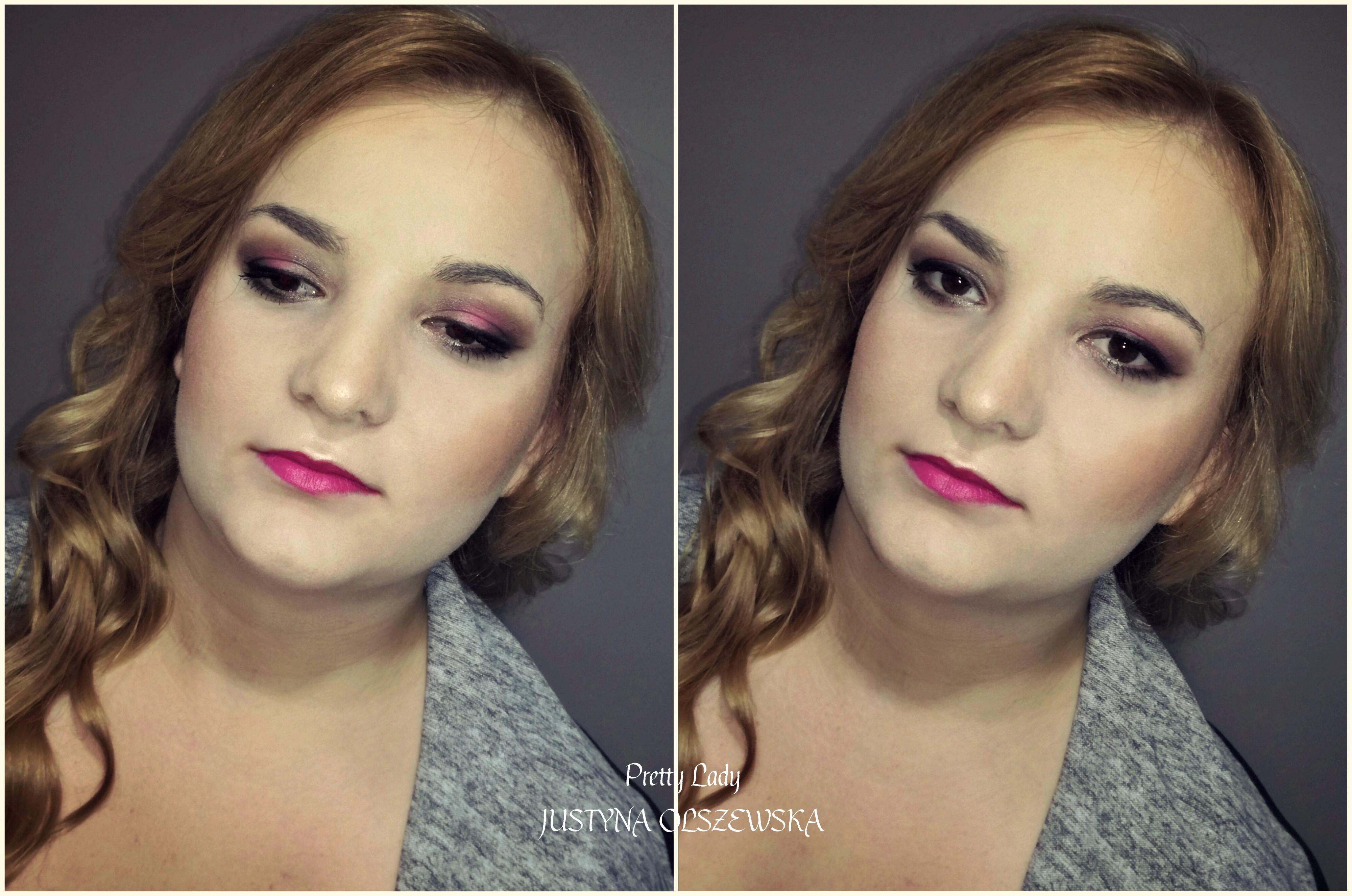 Makijaż w odcieniach Fuksji