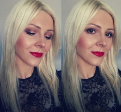 makijaż walentynkowy
