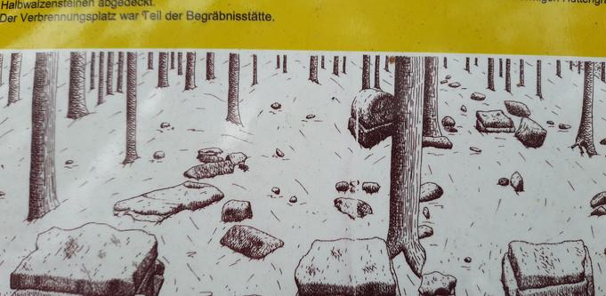 Gräberfeld unterhalb Ferschweiler Plateau