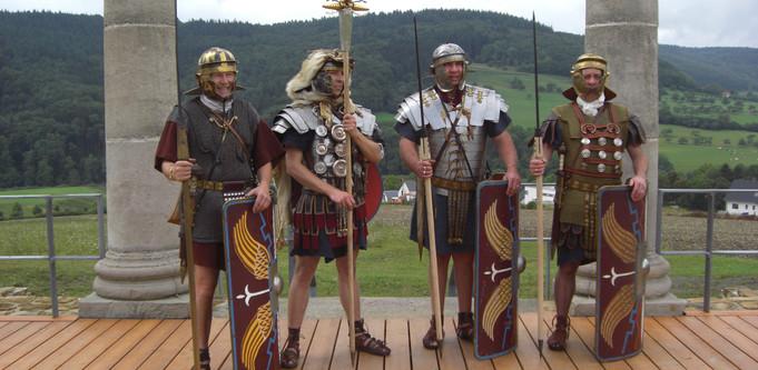 Römergruppe 2013 bei der Eröffnung