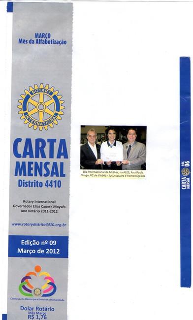 Carta Mensal (Rotary)