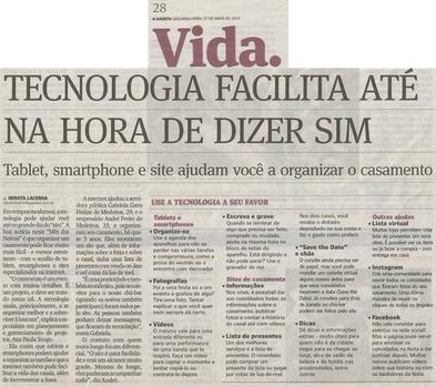 """""""Ana Paula Tongo, reconhecida pela mídia como especialista em Planejamento e Gerenciamento de Projetos."""" - A Gazeta"""
