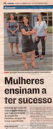 """Mulheres Ensinam a ter sucesso""- A Tribuna"