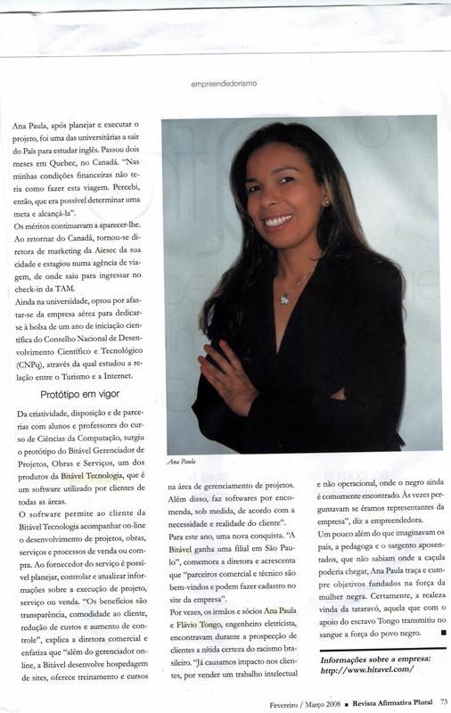 Revista Afirmativa Plural