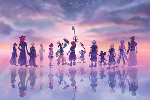 "Kingdom Hearts 3 ""One For All"" Poster Print"