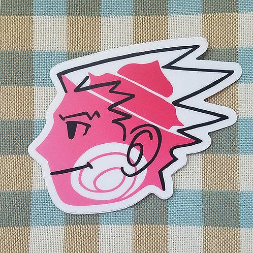 Phoenix Wright Shell Sticker