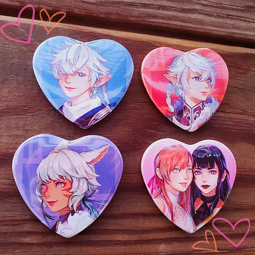 FFXIV Heart Buttons