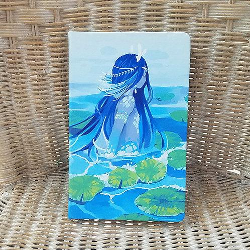 Mermaid Blank Notebook