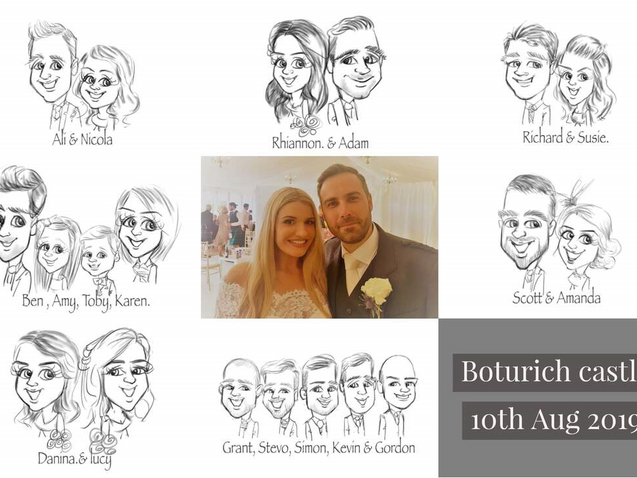 August 2019 | Boturich castle | wedding entertainment