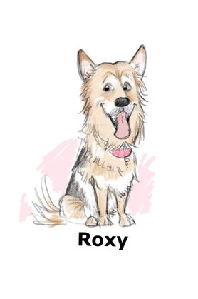 german shepard dog caricature | picky pencil dog caricaturist