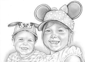 picky pencil illustration pencil portrai