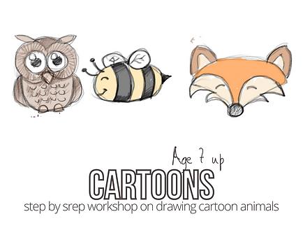 cartoon wildlife workshop