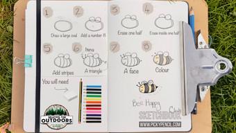 no 11-bee doodle worksheet.jpg