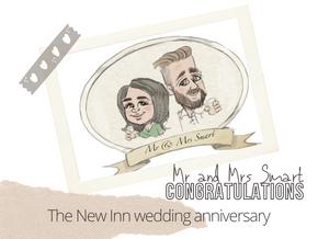Artist@your wedding anniversary | New Inn | 1st Oct 2021