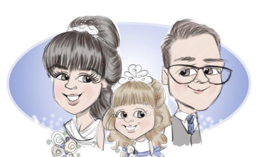 alten-aberdeen-caricaturist-wedding-ente