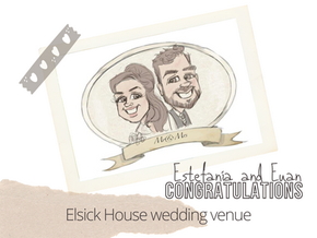 Artist@your wedding  Elsick House  25th August 21