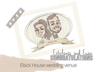 Artist@your wedding | Elsick House
