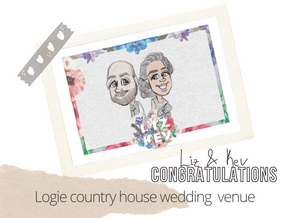 Artist @ your wedding   Logie country house   22nd Sep 21