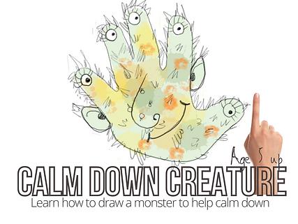 calm down creature workshop