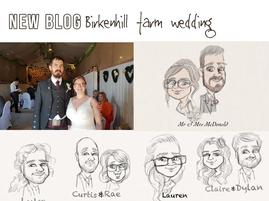 Wedding entertainment at Birkenhill Farm