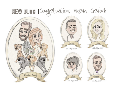 Congratulations Mr and Mrs Cradock