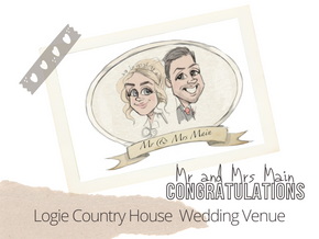 Artist@yourWedding   Logie Country House  13th Oct 2021