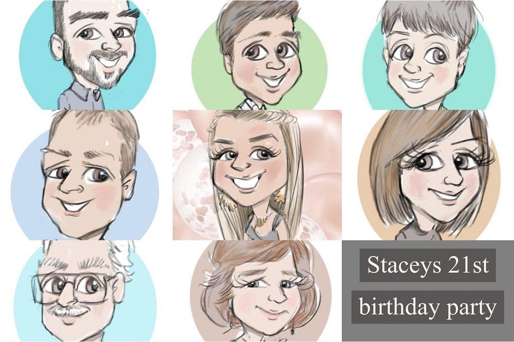 """1st Birthday party surprise cartoons"