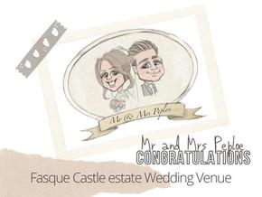 Artist@yourWedding Fasque Castle Estate 9thOctober2021