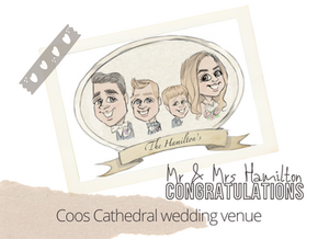 Artist@your wedding  coos cathedral  21st August 21