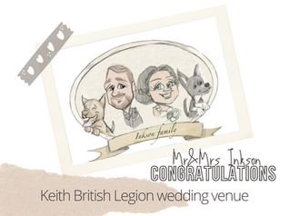 Artist@your wedding | Keith British Legion