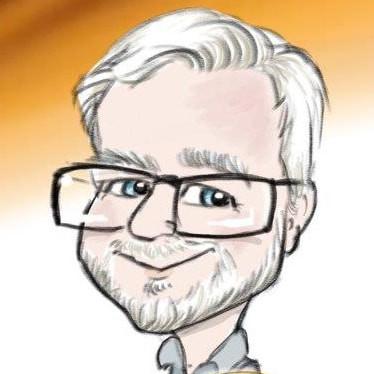 meet the team head shot caricature commission | picky pencil corporate caricaturist