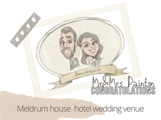 Artist@ your wedding  | meldrum country house hotel
