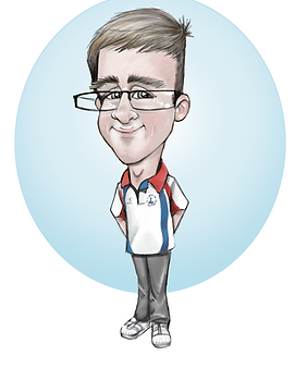 example of 1 layer caricature package | picky pencil caricaturist aberdeenshire