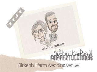 Artist@your wedding | Birkenhill Farm Banff