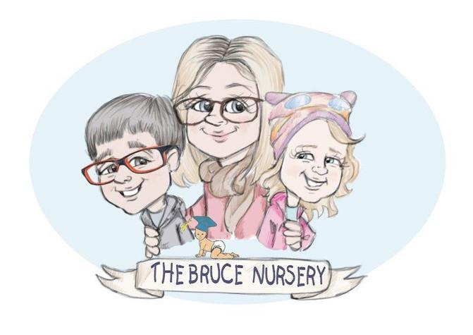 teacher gift nursery friends thank cartoon | picky pencil caricature