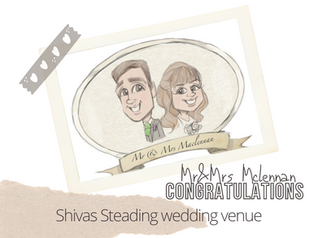 Artist@your wedding | The Schivas steading