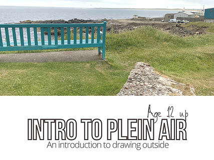 introduction to plein air drawing