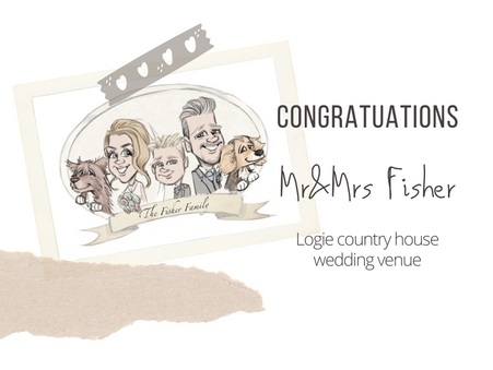 Artist@your wedding Logie country house