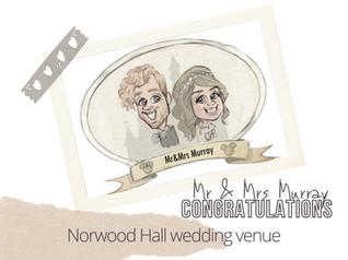 Artist @ your wedding | Norwood Hall Hotel