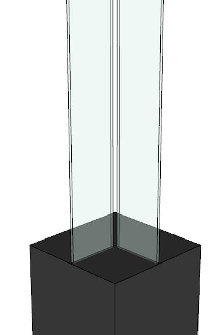 Casablanca 1 (hoek) met glas
