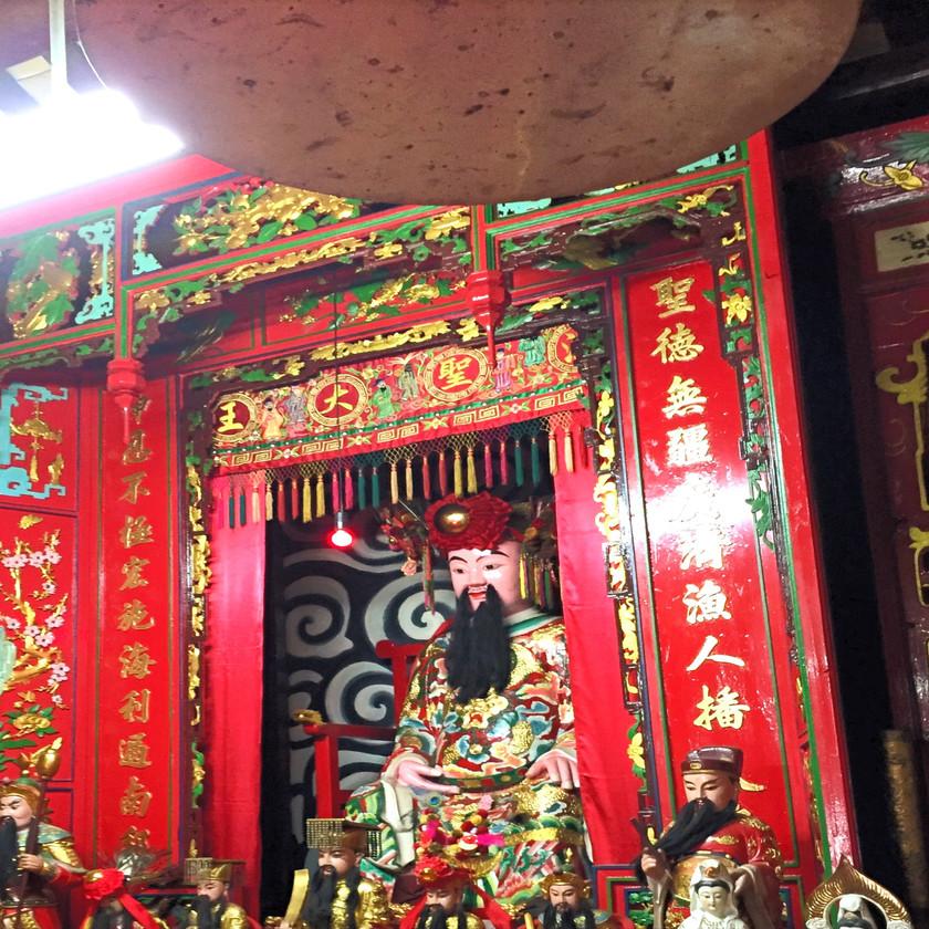 Tempel in Tai-O