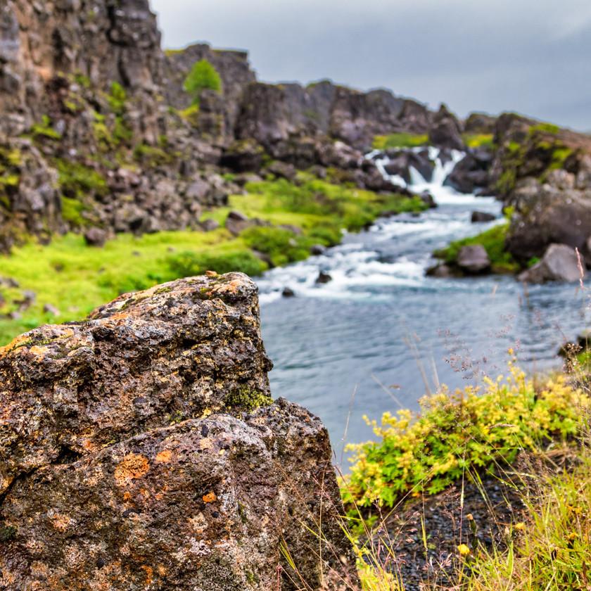 1. Wasserfall unserer Reise