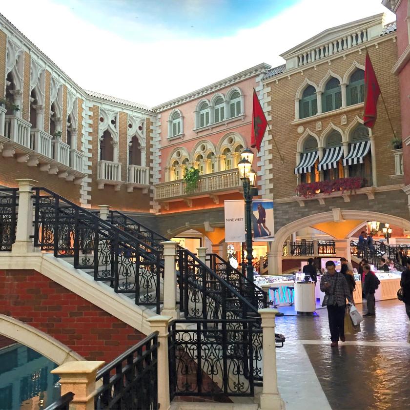 Venetian, wie in Las Vegas