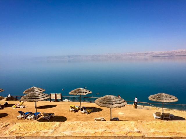 Aussicht auf das Tote Meer