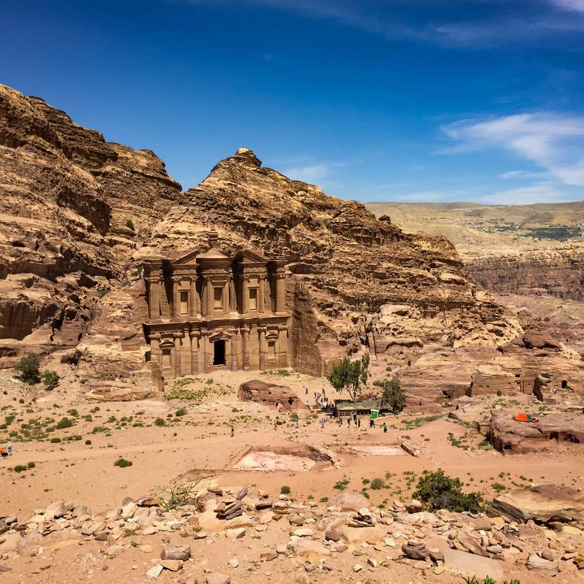 Das Kloster Ad Deir