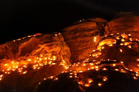Felsenlichter im Camp