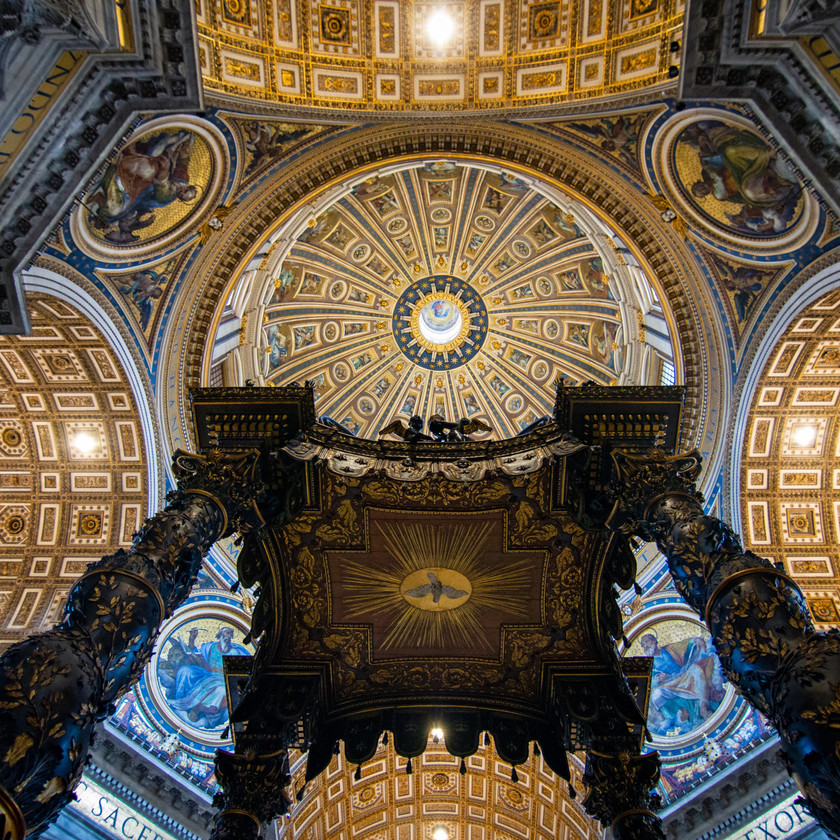 Petersdom von Innen